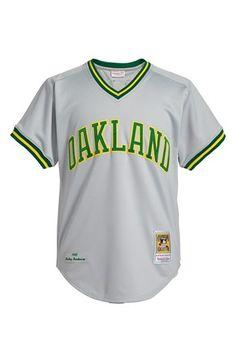 Mitchell & Ness 'Oakland Athletics 1982 - Rickey Henderson Authentic'  Baseball Jersey available at