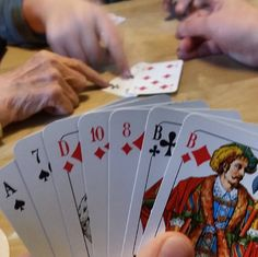Not only does Germany make things, it also invents games – like the card game Skat! It was created in Altenburg in Thuringia Germany at the beginning of the 19th century. One of the most complex card games around and when you get it – its a blast.