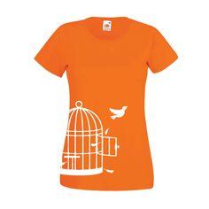 Bevrijdingsdag | Dames t-shirt Birdcage (10000)