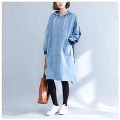 SuperAen Pluz Size Women's Clothing Thick Long Hoody Sweatshirts Korean Style Loose Wild Women Hooded Sweatshirt Autumn New 2017 #Brand #SuperAen #sweaters #women_clothing #stylish_dresses #style #fashion