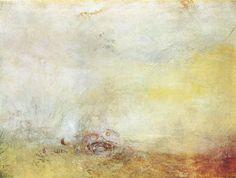 J. M. W. Turner, Sunrise with Sea Monsters,
