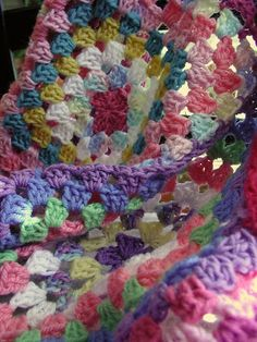 Chronicles of a yarn addicted, crochet love'n, and knitting wannabe.