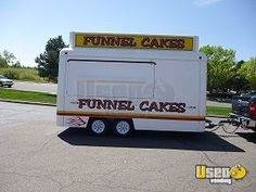 New Listing: http://www.usedvending.com/i/14-Funnel-Cake-Trailer-in-Colorado-for-Sale-/CO-P-123Q 14' Funnel Cake Trailer in Colorado for Sale!!!