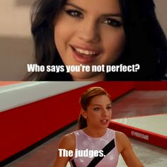 Who says youre not perfect? The judges. What!? It is true (if you are a gymnast) LOL!