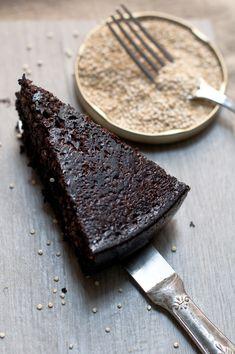 Torta di quinoa al cioccolato e caffè