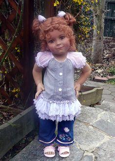 Chelsea by Artist Susan Lippl Master Piece Dolls