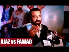 Ajaz Khan EXTREMLY ANGRY towards Indian Fawad Khan's fans. Gossip, Interview, Fans, Indian, Videos, Music, Youtube, Musica, Musik