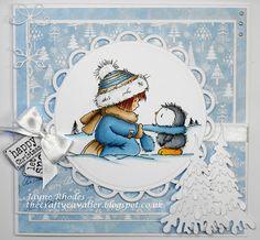LOTV - Cosy Penguin by Jayne Rhodes
