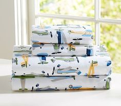 Airplane Sheeting #pbkids  Brandy~ this is on sale now!! :)