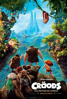 Os Croods(The Croods) - 22 de Março.  Site:http://www.thecroodsmovie.com/    Trailer:http://youtu.be/etBBOf_1iDk