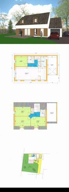 maison 5 pieces 108 m2 CARNAC centre Entre le Centre et lu0027Anse du Po - frais annexes construction maison3