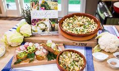 . @Home and Family - #CountdowntoChristmas Recipes - @Haylie Duff's Artichoke, Cauliflower, and Pea Gratin | Hallmark Channel