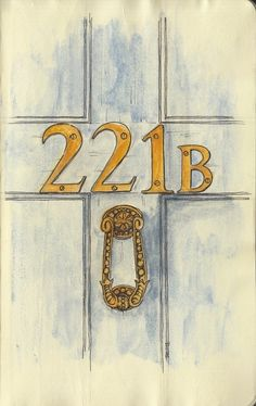 221b - Sherlock and Mycroft's home