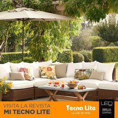 ¡La primavera ya llegó! ¿Tienes terraza o un jardín? Hoy te damos 3 ideas para decorar tus exteriores para esta temporada.