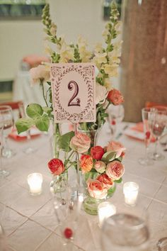 #table-numbers  Photography: Fresh In Love Photography - freshinlove.com  Read More: http://www.stylemepretty.com/2012/06/01/alexandria-wedding-by-fresh-in-love-photography/