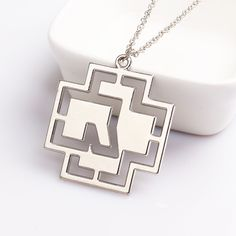 Rammstein Rock Band Necklace Silver Plated Hollow Pendant Punk Fashion for men and woman gift #Punk fashion http://www.ku-ki-shop.com/shop/punk-fashion/rammstein-rock-band-necklace-silver-plated-hollow-pendant-punk-fashion-for-men-and-woman-gift/