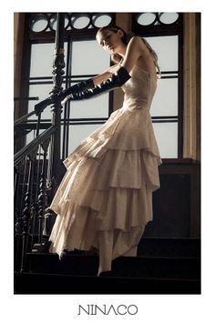 modern ball gown couture #ninaco #design #fashion