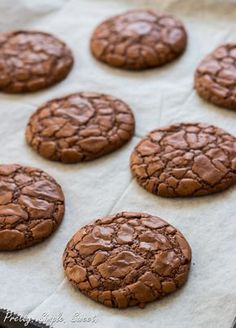 The Ultimate Fudgy Chocolate Cookies