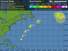 Tropical Storm Rafael upgraded to Hurricane