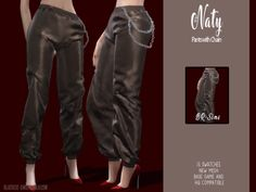 The Sims 4 BR-sims Naty Pants with Chain Sims 4 Male Clothes, Sims 4 Clothing, Clothes For Women, Sims 1, Sims 4 Mods, Sims 4 Piercings, Sims Four, The Sims 4 Download, Sims 4 Cc Finds
