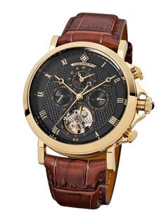 Shop famous German watch brands and hand-assembled wristwatches at Tufina Watches. Browse luxury watch brands for men like Pionier and Theorema now! Fancy Watches, Luxury Watches, Cool Watches, Watches For Men, Men's Watches, Tag Heuer, Amazing Watches, Beautiful Watches, Rolex