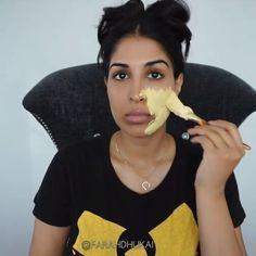 04607469af4 Acne free glowing skin DIY @farahdhukai Blemish Remedies, Acne Remedies,  Homemade Skin Care