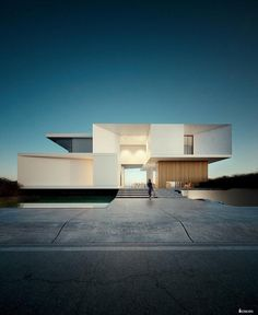 CREATO is an international architectural firm founded by architect Javier Cuevas; his projects and designs are unique for its trends in innovation, luxury and exclusiveness, Designing contemporary modern mansions Modern Architecture Design, Facade Design, Residential Architecture, Modern House Design, Exterior Design, Interior Architecture, Contemporary Design, Arch House, Facade House