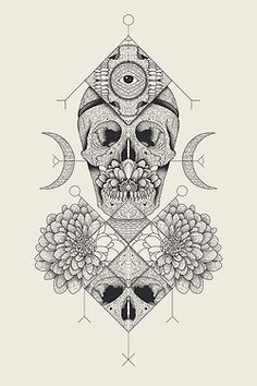Etched skull placement. Source: WGSN original artwork Traditional engraving is updated with contemporary subjects, bringing an edgy sophistication, specifically when in monotone.