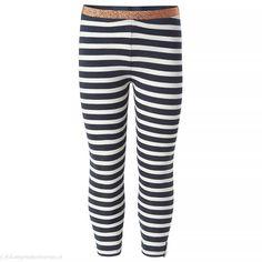 NOPPIES Legging Norridge ( donkerblauw gestreept) | Noppies kinderkleding Striped Pants, Kids Fashion, Pajama Pants, Pajamas, Sweatpants, Outre, Material, Style, Girls
