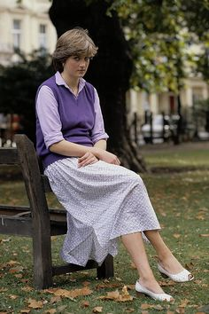 Lady Diana Spencer, wanting the paps to please just leave her alone.......