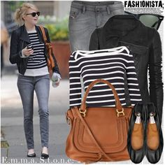 Celebrity Style: Emma Stone fashion