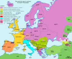 European etymology maps - these are FANTASTIC!