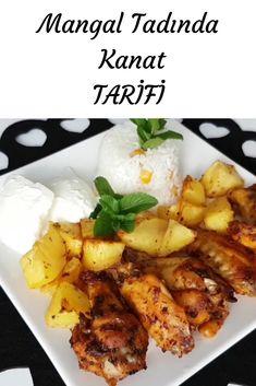 Mangal Tadında Kanat Chicken Wings, Pasta, Meat, Food, Essen, Meals, Yemek, Eten, Pasta Recipes