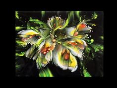 (485)colorful flowers,dip technique,Acrylgießen - YouTube Acrylic Pouring Techniques, Acrylic Pouring Art, Acrylic Art, Flow Painting, Crackle Painting, Abstract Canvas Art, Diy Canvas Art, Acrilic Paintings, Watercolor Paintings For Beginners
