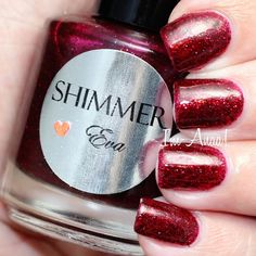 Shimmer Polish Eva by I'm A Nail Art Addict!