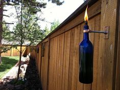 Wine Bottle Tiki Torch Hanging Kit-Set of 2