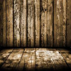 Rustic Brown Wood Al