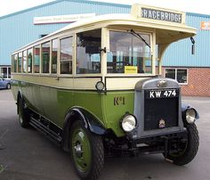 Leyland Lion PLSC1, B31F Body, KW474, 1927 at The Lincolnshire Road Transport Museum