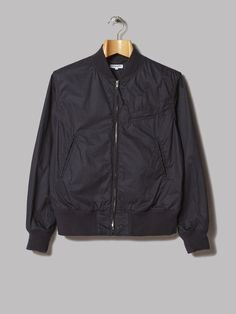 Engineered Garments Aviator Jacket (Dark Navy Washer Twill)