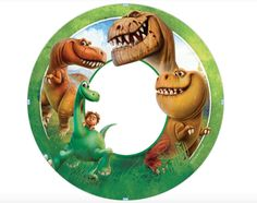 THE GOOD DINOSAUR PARTY SUPPLIES CAKE ICING TOPPER EDIBLE IMAGE-ADD YOUR PICTURE in Home & Garden, Parties, Occasions, Cake | eBay Dinosaur Party Supplies, Dinosaur Printables, Happy 5th Birthday, The Good Dinosaur, Garden Parties, Cake Icing, Animation Film, Button, Image