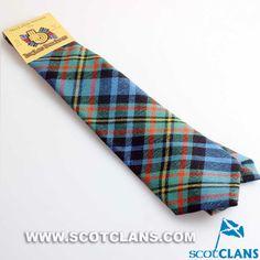 Clan MacLellan Ancient Wool Tartan Tie