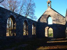 Church ruins near Lumsden, Aberdeenshire Scottish Clans, Heaven On Earth, Brooklyn Bridge, Tartan, My Dream, Britain, Scotland, Ireland, Houses