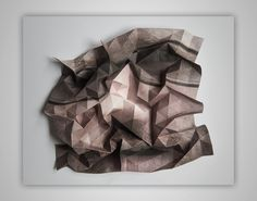 Sculptural Printed Photographs || A fascinating and unique technique by Austrian artist, Aldo Tolino. Click image for more