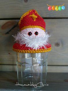 Sinterklaas snoeppot. Gemaakt door C.Koek