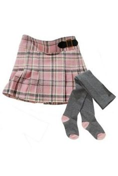 Buy Pink Check Kilt And Tights Set (3mths-6yrs) from the Next UK online shop