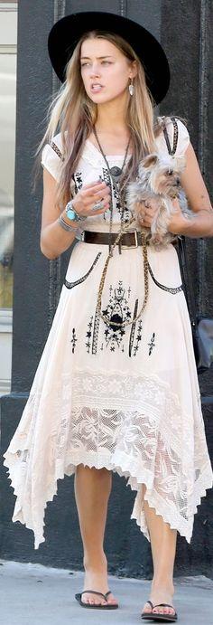 TD ❤️ Boho Style: Amber Heard