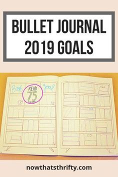 Are you making any new year's resolutions for 2019? Use your bullet journal to help you accomplish your goals. Check out our ideas for bullet journal 2019 goals. #bulletjournal #bulletjournalideas #bulletjournallayouts #bujoideas #bujoinspire