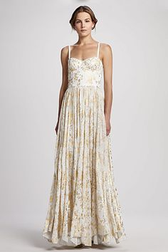 Alice + Olivia Yarra Bustier Maxi Dress, $495, available at Bergdorf Goodman. You're Invited: 13 Formal Dresses To Make That Party Chic!