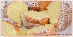 Bizcocho clásico de yogurt. (Thermomix) Salsa Recipe, Cornbread, Vanilla Cake, Food And Drink, Ethnic Recipes, Desserts, Sugar, Chef Kitchen, Recipes