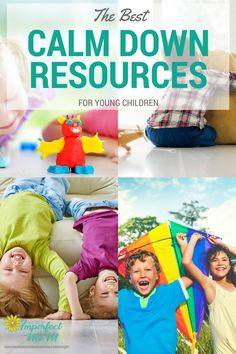 30 of the best calm down resources to help young children deal with big emotions, decrease meltdowns, and proactive ways to regulate their emotions.